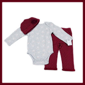 Baby Gear 3-piece Outfit Baby Girls 3-6 months NWT